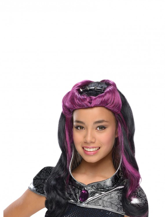 Raven Queen Wig w/ Headpiece, halloween costume (Raven Queen Wig w/ Headpiece)
