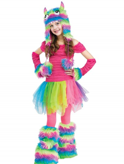 Rockin' Rainbow Monster Child Costume, halloween costume (Rockin' Rainbow Monster Child Costume)