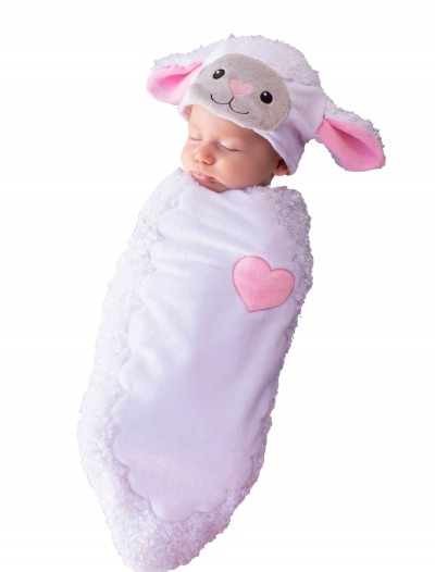 Rylan the Lamb Newborn Bunting, halloween costume (Rylan the Lamb Newborn Bunting)