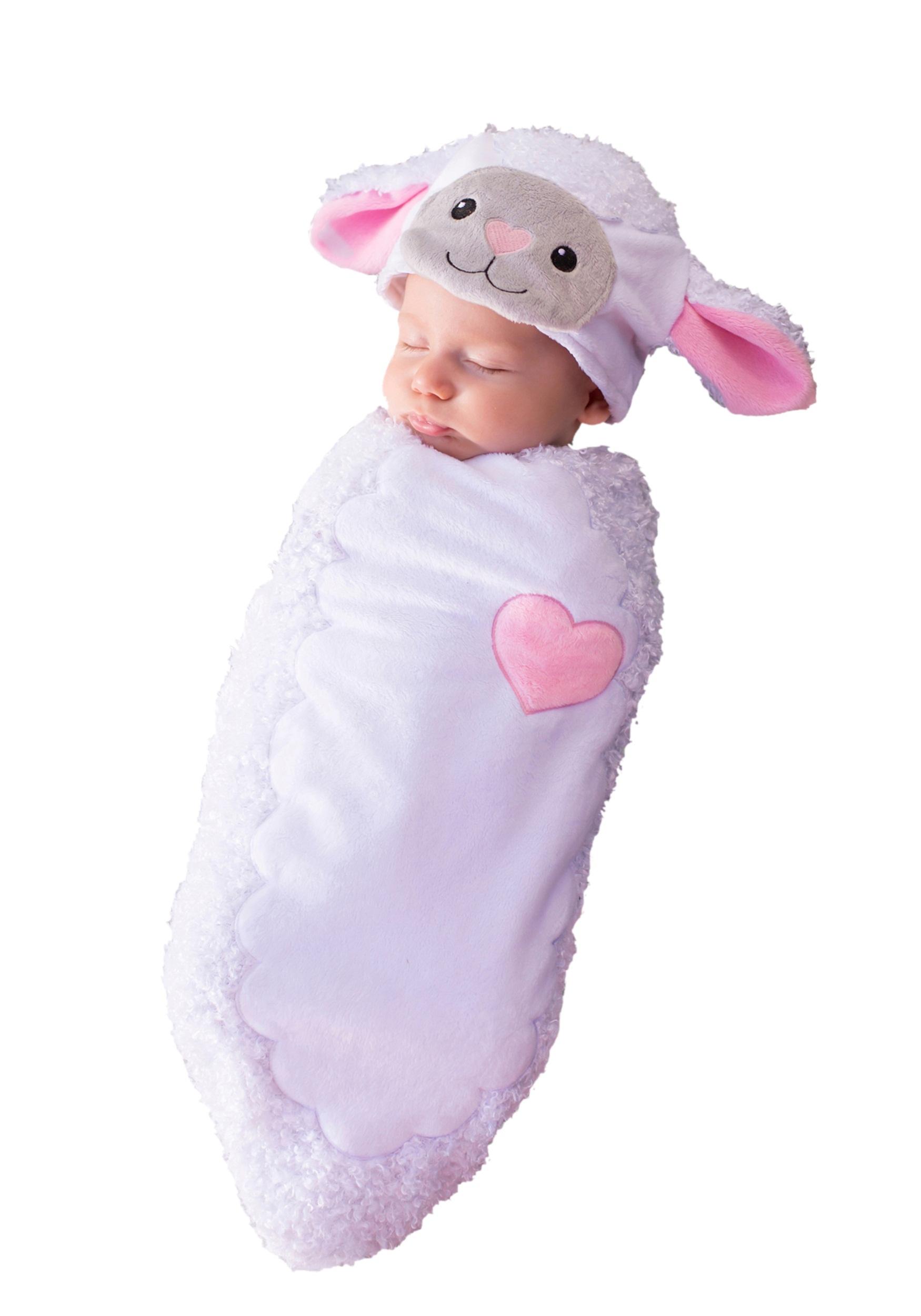 rylan the lamb newborn bunting - halloween costumes