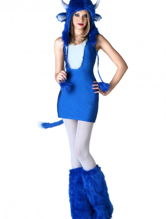 Sexy Babe the Blue Ox Costume, halloween costume (Sexy Babe the Blue Ox Costume)