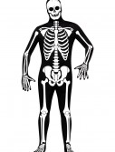 Skeleton Zentai Suit, halloween costume (Skeleton Zentai Suit)