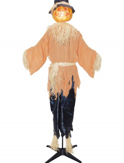Standing Animated Pumpking Scarecrow, halloween costume (Standing Animated Pumpking Scarecrow)