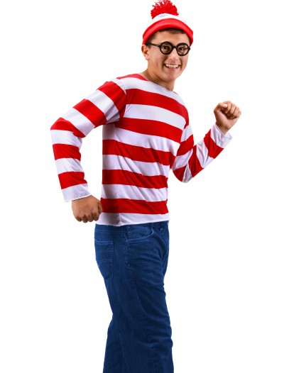Teen Where's Waldo Costume, halloween costume (Teen Where's Waldo Costume)