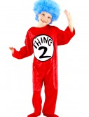 Thing 1 & Thing 2 Toddler Costume, halloween costume (Thing 1 & Thing 2 Toddler Costume)