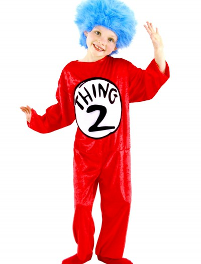 Thing 1 & Thing 2 Toddler Costume, halloween costume (Thing 1 & Thing 2 Toddler Costume)