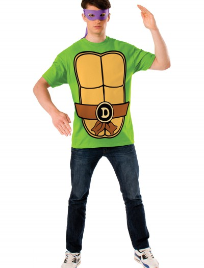 TMNT Donatello Adult Costume Top, halloween costume (TMNT Donatello Adult Costume Top)