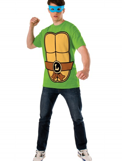 TMNT Leonardo Adult Costume Top, halloween costume (TMNT Leonardo Adult Costume Top)