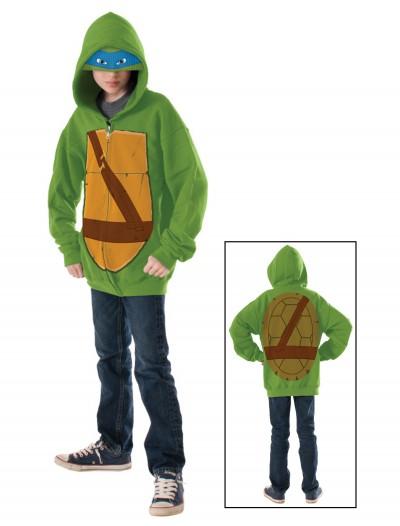 TMNT Leonardo Child Hoodie, halloween costume (TMNT Leonardo Child Hoodie)