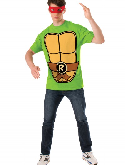 TMNT Raphael Adult Costume Top, halloween costume (TMNT Raphael Adult Costume Top)