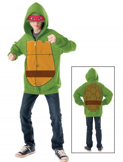 TMNT Raphael Child Hoodie, halloween costume (TMNT Raphael Child Hoodie)