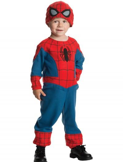 Toddler Amazing Spider-Man Fleece Jumpsuit, halloween costume (Toddler Amazing Spider-Man Fleece Jumpsuit)