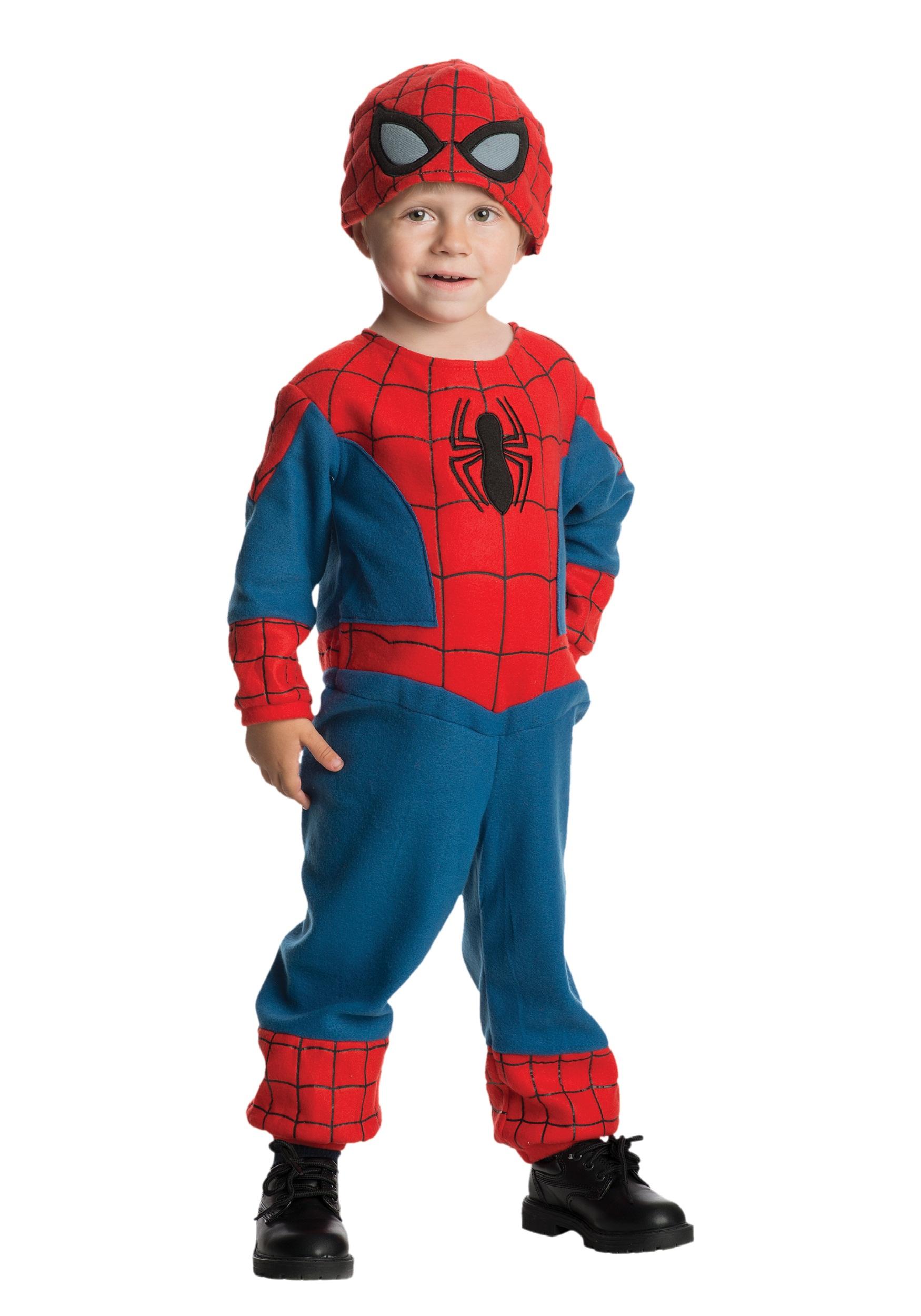 Toddler Amazing Spider-Man Fleece Jumpsuit  sc 1 st  Halloween Costumes & Toddler Amazing Spider-Man Fleece Jumpsuit - Halloween Costumes