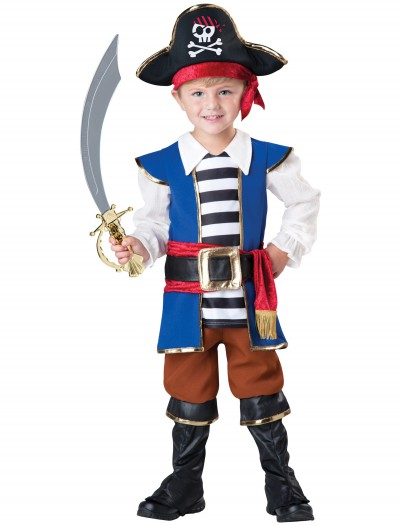 Toddler Pirate Captain Costume, halloween costume (Toddler Pirate Captain Costume)