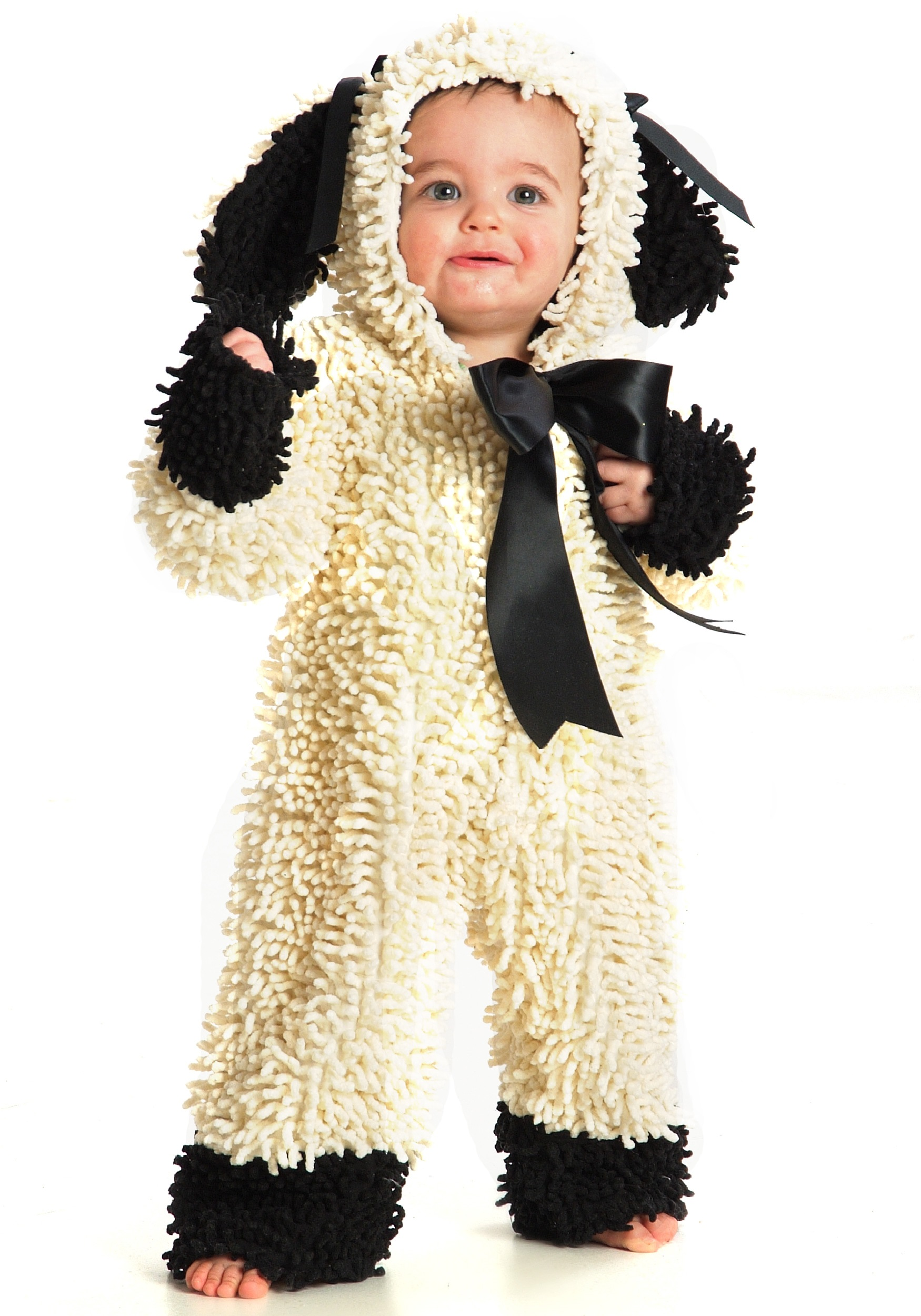 Toddler Wooly Lamb Halloween Costumes