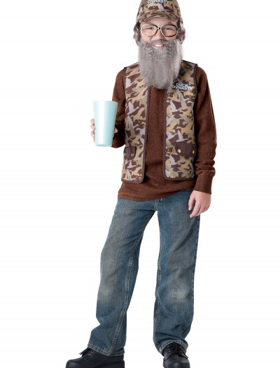 Uncle Si Child Costume, halloween costume (Uncle Si Child Costume)
