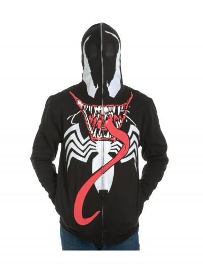 Venom Full Zip Mask Hoodie, halloween costume (Venom Full Zip Mask Hoodie)