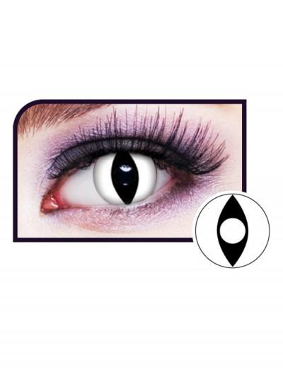 White Cat Eye Contact Lenses, halloween costume (White Cat Eye Contact Lenses)