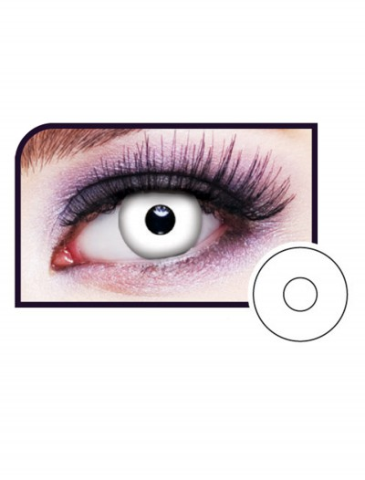 White Out Eye Contact Lenses, halloween costume (White Out Eye Contact Lenses)