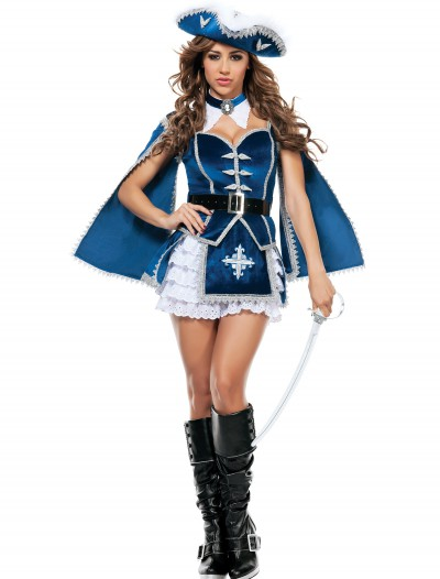 Womens All For You Musketeer Costume, halloween costume (Womens All For You Musketeer Costume)