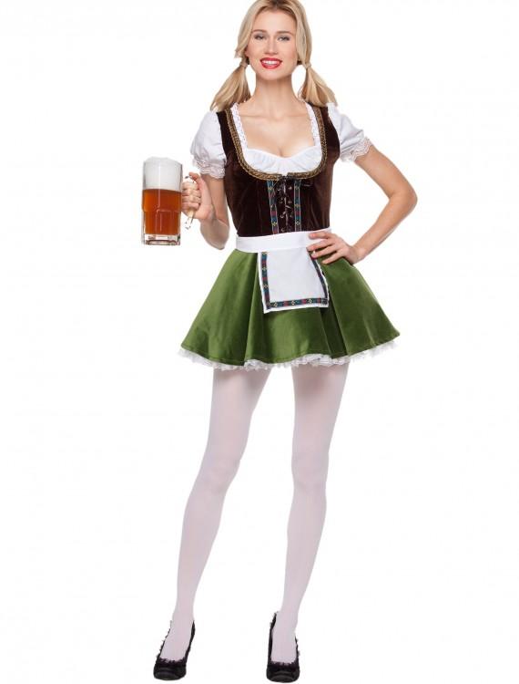 Women's Bavarian Girl Costume, halloween costume (Women's Bavarian Girl Costume)