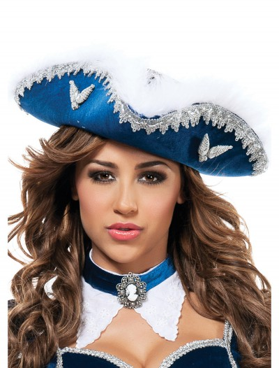 Womens Musketeer Hat, halloween costume (Womens Musketeer Hat)