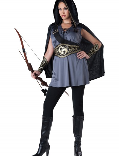 Women's Plus Size Huntress Costume, halloween costume (Women's Plus Size Huntress Costume)