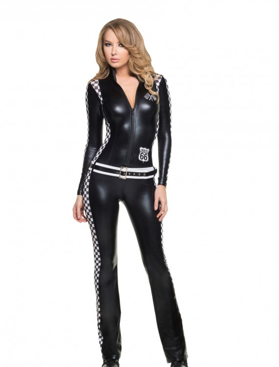 Women's Racer Girl Costume, halloween costume (Women's Racer Girl Costume)