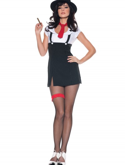 Womens Sexy Gangster Molly Costume, halloween costume (Womens Sexy Gangster Molly Costume)