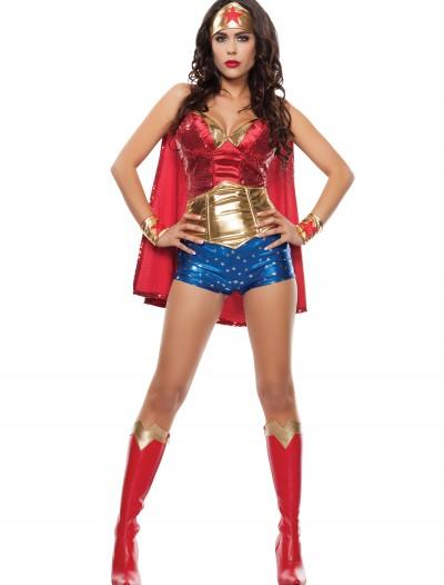 Women's Wonder Lady Costume, halloween costume (Women's Wonder Lady Costume)